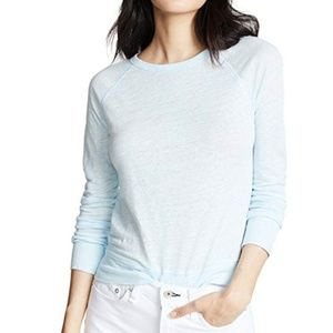 Vince baby blue long sleeve tee XS